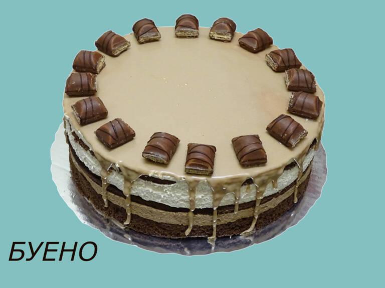 торта Буено, 16 парчета